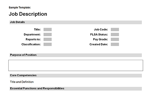 Job description templates download download toolkit preview of form x pronofoot35fo Images